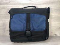 """Targus Laptop Bag 15"""" Black & Blue - Multiple Compartments - Carry Strap - VGC"""