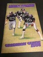1983 NCAA Football Holy Cross Media Guide