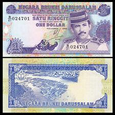 Brunei 1 Ringgit, 1994, P-13b, UNC, Banknotes, Original