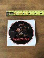 Winchester Ammunition Firearms Logo Round Mount Sticker/Decal Gun 2020 Shot Show