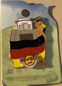 Hard Rock Cafe BERLIN 2021 Checkpoint Charlie Landmark Flag Sexy GIRL PIN New
