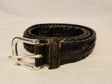 DOCKERS Mens Black Genuine Leather Belt - sz 38 / 95