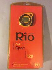 SEALED NIB MP3 RIO Player Digital Audio Music Media Cali Sport 128 MB  NOS