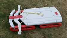"Vintage 39"" Plastic Snow Works Snow Sleigh Sled Flexible Flyer EMPIRE Blow-mold"
