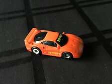 Tyco Ferrari F40 HO Slot Car with 440x2 Chassis UPGRADED PERFORMANCE PARTS