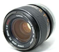 Canon FD 35mm 1:2 S.S.C. Lens *As Is* #C006g