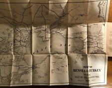 1877 Eastern Question; Russia And Turkey With Maps