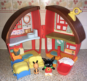 CBeebies Bing Bunny House Playset Flop Bundle Toy Mattel Rabbit