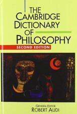 The Cambridge Dictionary of Philosophy Second Ed. Robert Audi-General Editor J-1