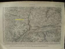 Carte d'État-Major Ancenis Sud-Ouest 1894