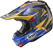 Arai MX-V Motocross Race Helmet Brock Tickle Replica Blue Adults Medium 57-58cm