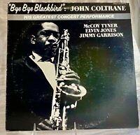 LP: John Coltrane~Bye Bye Blackbird~Pablo Live~1981~Jazz~Hard Bop