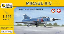 Mark I Models 1/144 Model Kit 14492 Dassault Mirage IIIC 'Delta-wing Fighter'