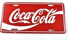 Coca-Cola Coke Blech Schild USA Auto Metal License Plate Nummernschild