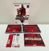 PlayStation Metal Gear Solid 20th Anniversary Version Sony PS1 KONAMI MGS
