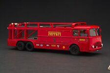 Exoto 43   Ferrari Race Car Transporter   Movie Le Mans w/ Steve McQueen