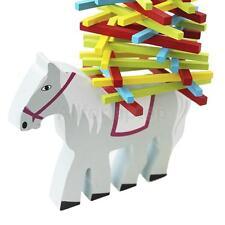 Kinder Spielzeug Bunte Sticks Schwebebalken Schaukelpferd Wooden Horse
