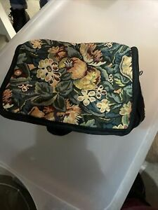 Vintage Typestry Toiletry Bag Luggage Cosmetic Bag CARRY Tote
