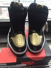 Nike Air Jordan 1 Retro High OG NRG SZ 14 Gold Top 3 Gold toe