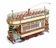 OCCRE 1:24  KIT IN LEGNO E METALLO TRAM LONDON L.C.C.106  ART 53008