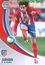 048 JURADO ESPANA ATLETICO TARJETA CARD MEGA CRACKS LIGA 2008 PANINI