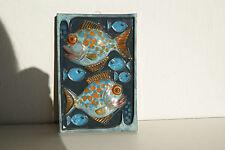 Keramiken mit Fisch-Motiv der 50er & 60er Jahre