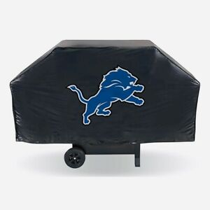 """DETROIT LIONS ECONOMY GRILL COVER DURABLE VINYL 68"""" BBQ COVER FREE SHIPPING"""