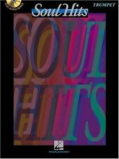 """SOUL HITS"" INSTRUMENTAL PLAY-ALONG FOR ""TRUMPET"" MUSIC BOOK/CD-NEW ON SALE!!"