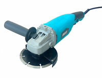 """Moss 800W Electric Angle Grinder 115mm 4.5"""" Heavy Duty Cutting Grinding 240V"""