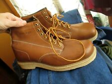 RARE NWOT NEW DS True Vtg IRON AGE UNION MADE Heritage Steel Toe Work boots 13 D