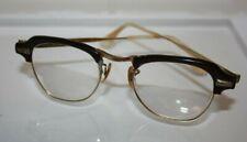 Vintage Bausch & Lomb B&L Brown & Gold 1/10 12K Gf 4 - 5 1/4 EyeGlasses