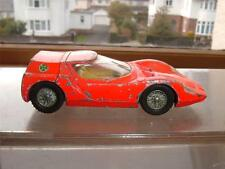 Dinky TOYS ALFA ROMEO OSI SCARABEO pare-brise fissuré besoins travail descendre 4 photos