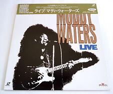 MUDDY WATERS Live 1981 JAPAN LD Laserdisc 1993 BVLP-95 Johnny Winter Buddy Miles