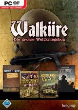 PC Spiel Walküre - Die große Weltkriegsbox 4 Spiele auf 2 CDs