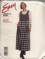 8320 9435 UNCUT Vintage McCalls SEWING Pattern Loose Fitting Pullover Jumper OOP