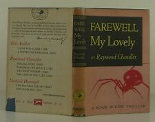RAYMOND CHANDLER Farewell My Lovely EARLY BLACK WIDOW EDITION