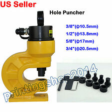 """CH-60 Puncher Hydraulic Hole Puncher max0.39"""" 10mmThickness Metal Copper"""