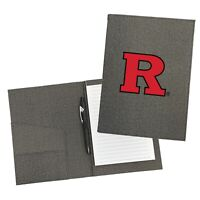 Rutgers Scarlet Knights Personalized College Padfolio Notepad Organizer