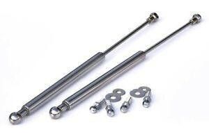 For VW Golf MK2 2 Jetta Chrome Bonnet Hood Gas Lifter Lifts Dampers Struts Ram