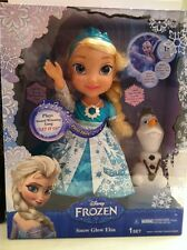Disney Frozen Musical ELSA Snow Globe Doll-- New in Box!!