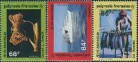 French Polynesia 1993 SG672-674 Bonito Fishing set MNH