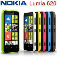 "Original Nokia Lumia 620 3.8"" Unlocked 3G Wifi 5MP 8GB GPS Windows OS Free ship"