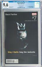 Black Panther #7 CGC 9.6 Bill Sienkiewicz King Mez Hip Hop Variant Cover!
