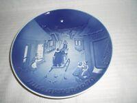 Bing & Grondahl B & G Denmark Christmas Plate 1979 White Christmas