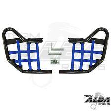 Kawasaki KFX 450 450R  Nerf Bars    Alba Racing  Black bar Blue nets 188 T1 BL