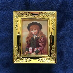 1:12 scale dollhouse miniature wall decor framed world painting replica #25