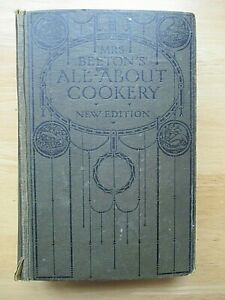 Mrs Beeton's All About Cookery (New Edition, Vintage Book)