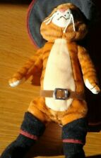 Ty Beanie Baby PUSS IN BOOTS the Cat Shrek the Third DVD Exclusive 8.5 Inch