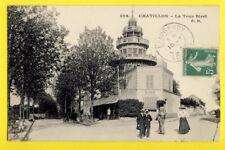cpa FRANCE 92 - CHÂTILLON (Hauts de Seine) La TOUR BIRET Animés