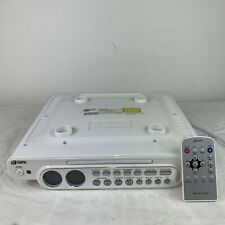 Gpx Under Cabinet Cd Player/Radio With Remote Kccd6316Dt Used